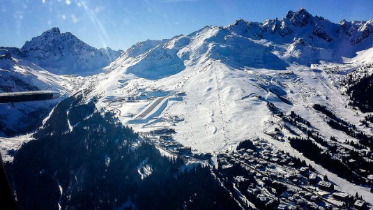 Courchevel-Altiport-Overview