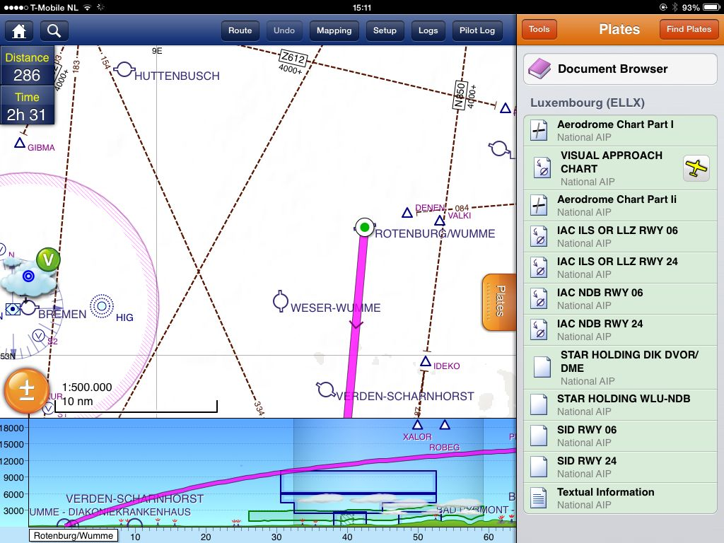 AeroPlus Flightplan app integrates with SkyDemon -