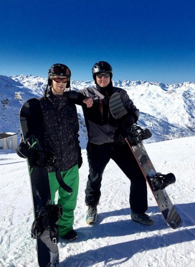 Snowboarding-2-Courchevel
